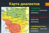 Територіальні діалекти української мови: приклади