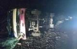 Под Киевом пассажирский автобус вылетел в кювет