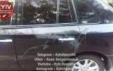 В Киеве, 30 машин облили кислотой