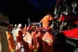 На северо-западе Китая 36 человек погибли в автокатастрофе