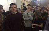 Студенты медицинского университета Богомольца в Киеве заблокировали вход в университет