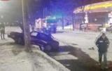Возле заправки в Киеве произошла АВАРИЯ с последующим пожаром