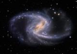 Астрономы запечатлели красивую спиральную галактику