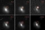 Астрономы загадочные вспышки