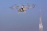 В Дубае первый в мире беспилотный летающий такси (фото, видео)переживает