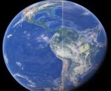 На снимках Google Earth нашел странные полосы