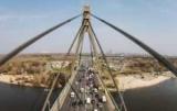 Транспортный коллапс. В Киеве, в среду ограничат движение на мосту в Москве